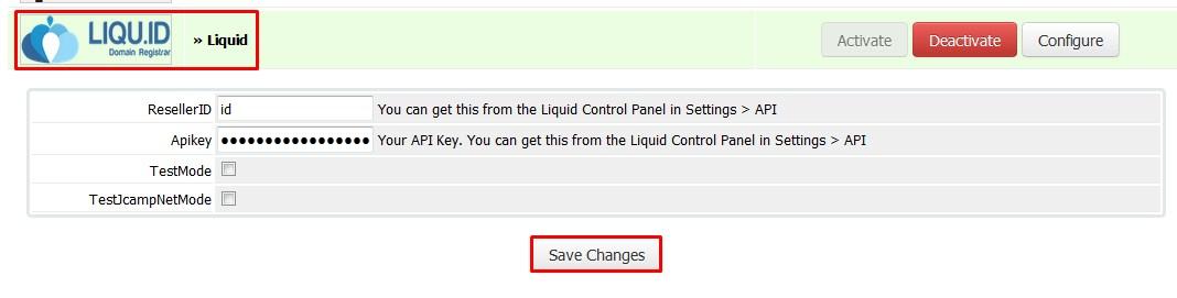 WHMCS Integrations — Liquid 0 0 1 documentation
